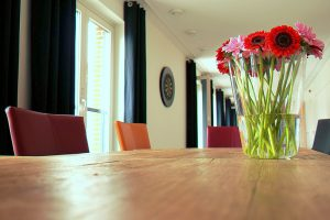 How to remove water marks from your finished table